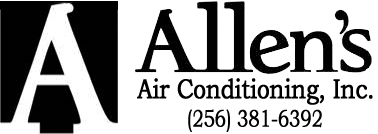 Allen's Air Conditioning, Inc. 187 River Drive Tuscumbia, AL 35674 - Phone: (256) 381-6392